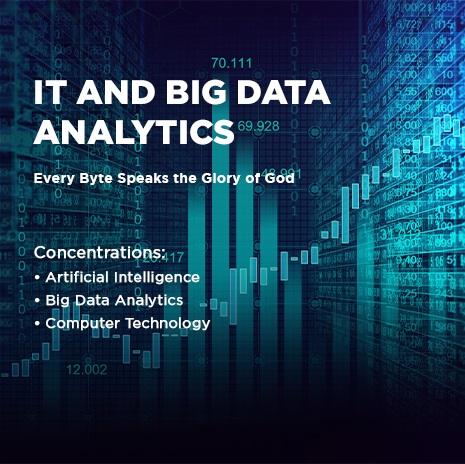 IT and Big Data Analytics (S.Kom.)